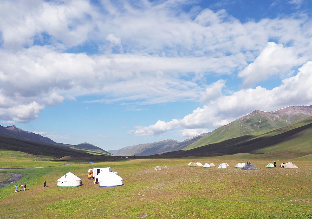 biosphere expeditions basecamp tien shan