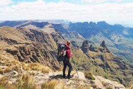 trekkingtour drakensberge südafrika bericht
