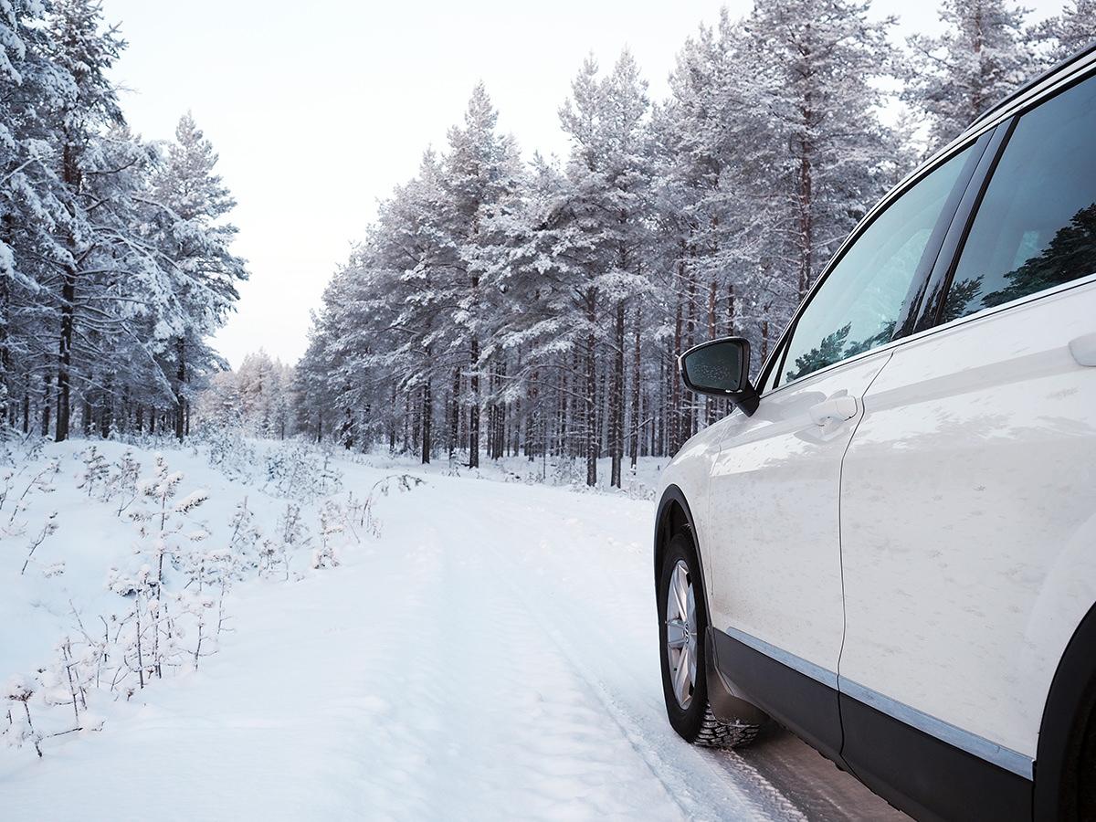 autofahren finnland winter