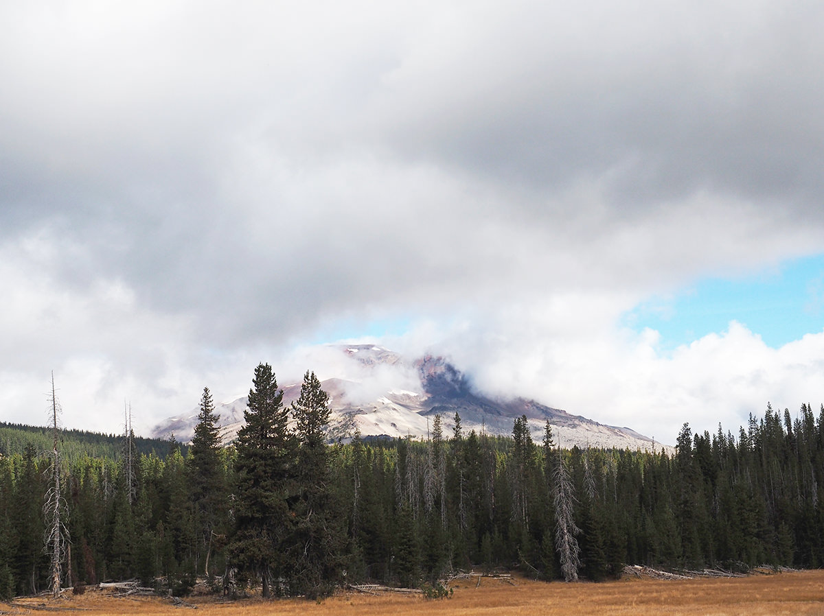 south sister vulkan