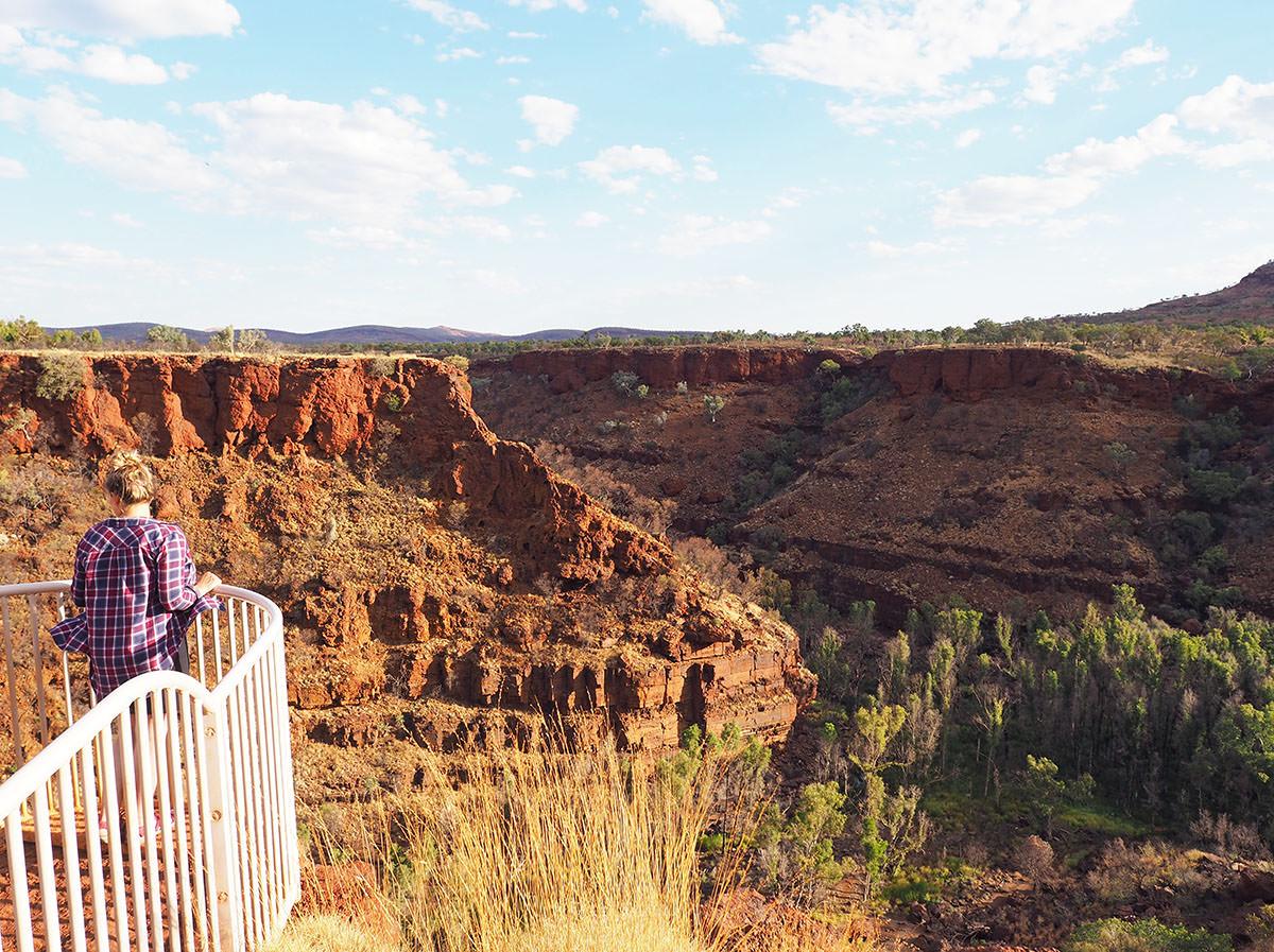 karijini nationalpark wandern tipps