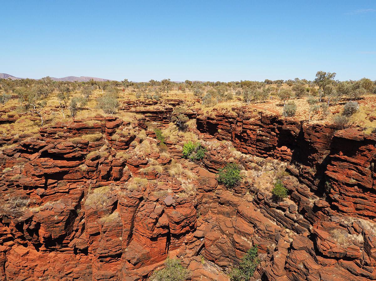 karijini nationalpark geologie