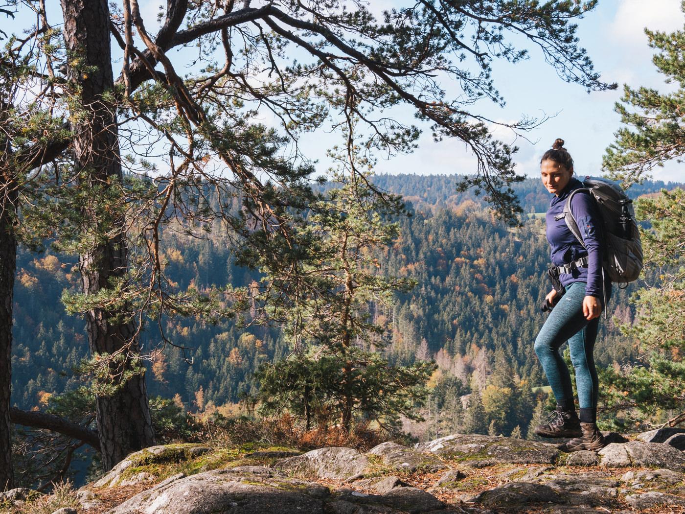 Herbstwanderung auf dem Albsteig im Schwarzwald